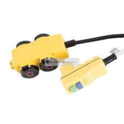 STANLEY 4-es elosztó kapcsolóval RCD dugóval 5m kábel H07RN-F 3G1 5